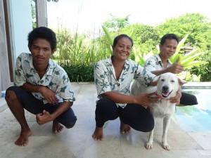 Villa Nusa Staff